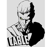 Marvel Cable - Nathan Summers Photographic Print