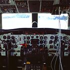 Convair Flight Deck by njordphoto