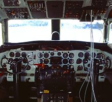 Convair Flight Deck by njordphoto