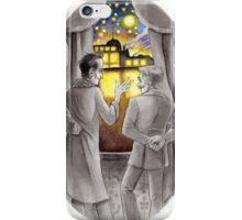"Life is Infinitely Stranger"" - Holmes and Watson - 221B version #  iPhone Case/Skin"