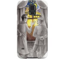 "Life is Infinitely Stranger"" - Holmes and Watson - 221B version #  Samsung Galaxy Case/Skin"
