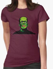 FRANKIE FEELS PRETTY Womens Fitted T-Shirt