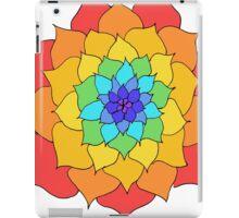 Rainbow Flower iPad Case/Skin