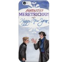 And a Happy New Year - BBC Sherlock iPhone Case/Skin