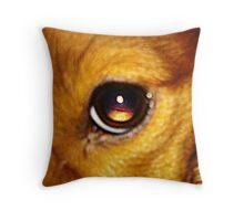 Luna's Eye Throw Pillow
