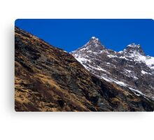 Alpine Colors Canvas Print