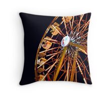 flourescent. Throw Pillow
