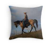 Heading Back to Camp Throw Pillow