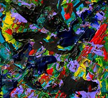 Colorful Pattern, Abstract Expressionist Art by ShiningEyeArts