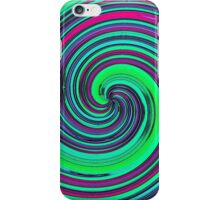 Psychedelic Retro Swirl - Pattern iPhone Case/Skin