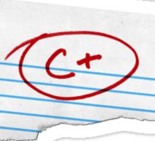 Average Grade Sticker