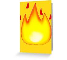 Hotness Greeting Card