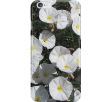 White Flowers #2 iPhone Case/Skin
