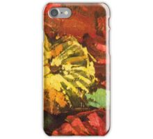 FLOWER PAINTING IN ACRYLIC iPhone Case/Skin