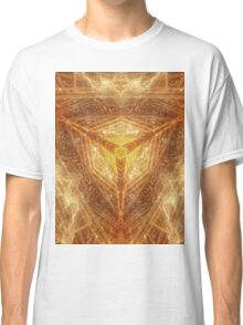 Sacred Geometry 04 - Psychedelic Cube Classic T-Shirt