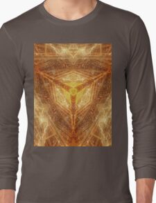 Sacred Geometry 04 - Psychedelic Cube Long Sleeve T-Shirt