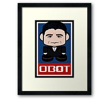 Paul Ryan Politico'bot Toy Robot 2.0 Framed Print