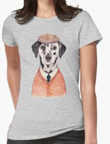 Dalmatian Womens Fitted T-Shirt