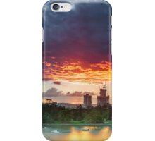 River Fire - Brisbane Qld Australia iPhone Case/Skin