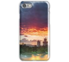 River Fire - Brisbane Qld Australia iPhone Case/Skin