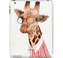 Lady Giraffe iPad Case/Skin