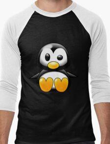 Baby Penguin Men's Baseball ¾ T-Shirt