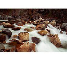 White Rush Photographic Print