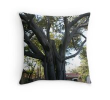 Foreboding Fig Throw Pillow