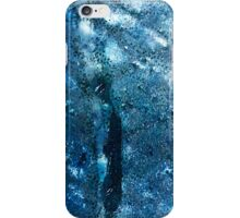 Abstract blue scales 3 iPhone Case/Skin