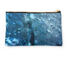 Abstract blue scales 3 Studio Pouch