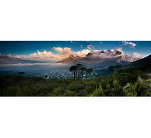 Table Mountain Panorama Photographic Print