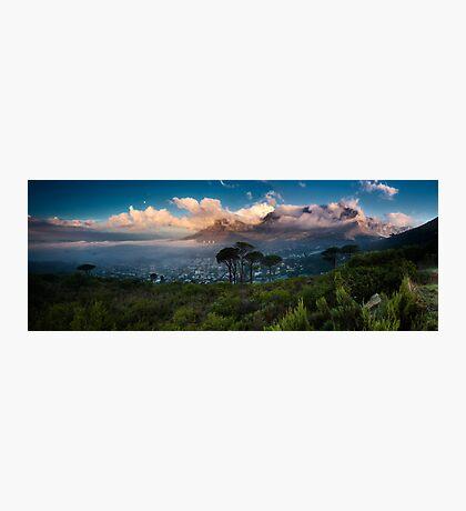 Table Mountain Panorama Photographic Print