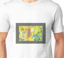 ABSTRACT GEL MONOPRINT Unisex T-Shirt