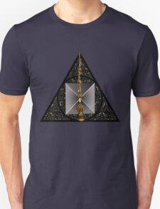 Deathly Hallows symbol with realistic objects Unisex T-Shirt