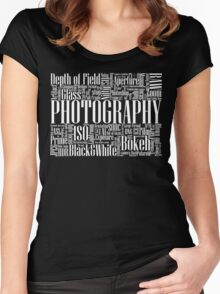 Photography Women's Fitted Scoop T-Shirt