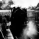 Steam train by Matt Sillence