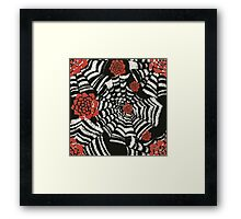 Caught in the spider web Framed Print