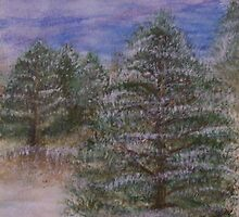 Winter Pines by dryant4