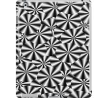 Bulls Eyes - B&W  iPad Case/Skin