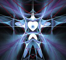 'A Heart Constrained by Pain (DoveMan)' by Scott Bricker