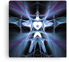 'A Heart Constrained by Pain (DoveMan)' Canvas Print