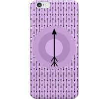 Gosh I Love Arrows iPhone Case/Skin