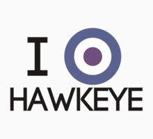 I Heart Hawkeye V2 by Arcee Partridge