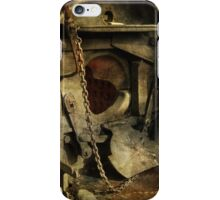 Steam Engine Furnace iPhone Case/Skin