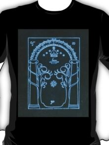 The Doors of Durin | The West Gate of Moria  T-Shirt