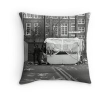 East Street Barrow Boys Throw Pillow