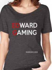 LPL - Edward Gaming (EDG BLACK) Women's Relaxed Fit T-Shirt