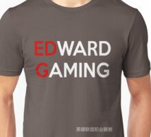 LPL - Edward Gaming (EDG BLACK) Unisex T-Shirt