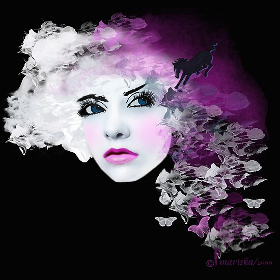 Fantasy And Fairy-Tale/Fashion Illustration by Mariska