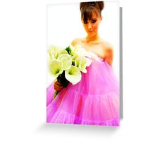 """""""For you """" Greeting Card"""
